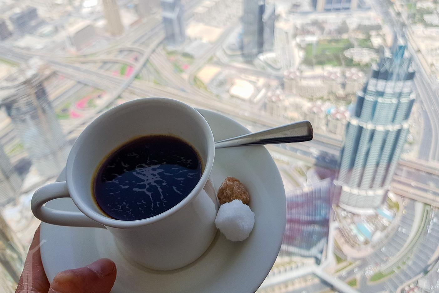 Kaffe på våningen 148