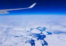Lufthansa LH476 mellan Grönland och Kanada