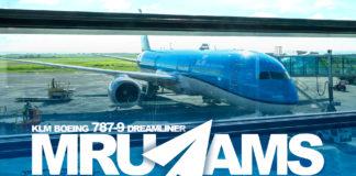 KLM Dreamliner 787-9 PH-BHE