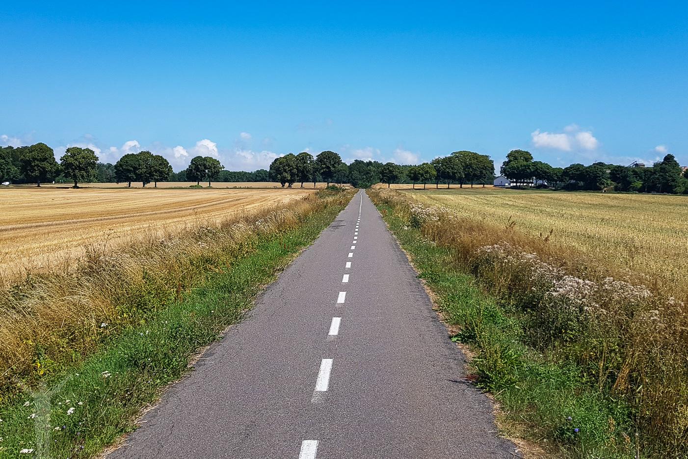Cykelväg på Bornholm