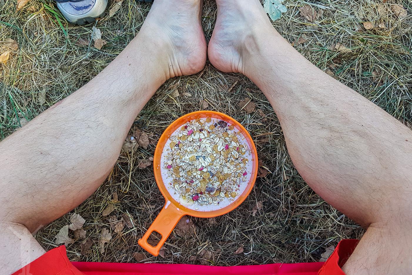 Campingfrukost