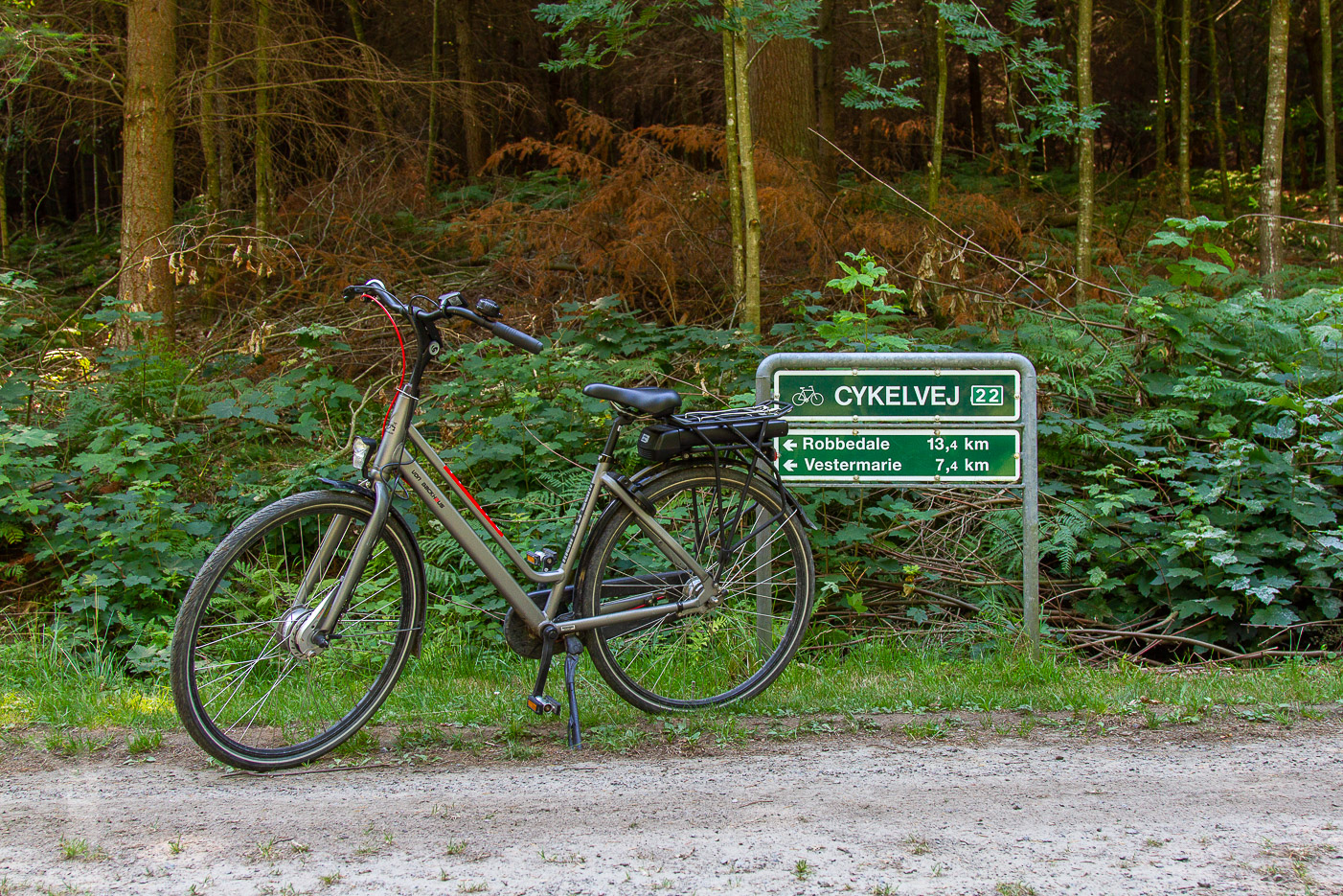 Cykelled på Bornholm