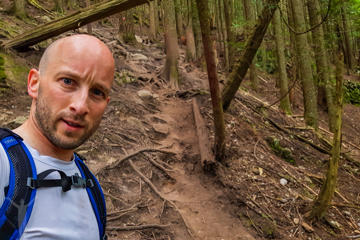 BCMC Trail-selfie