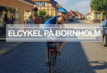 Hyra elcykel på Bornholm