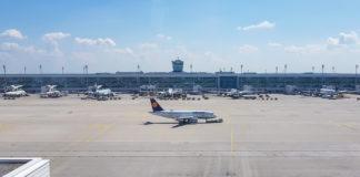 Spana flygplan i München