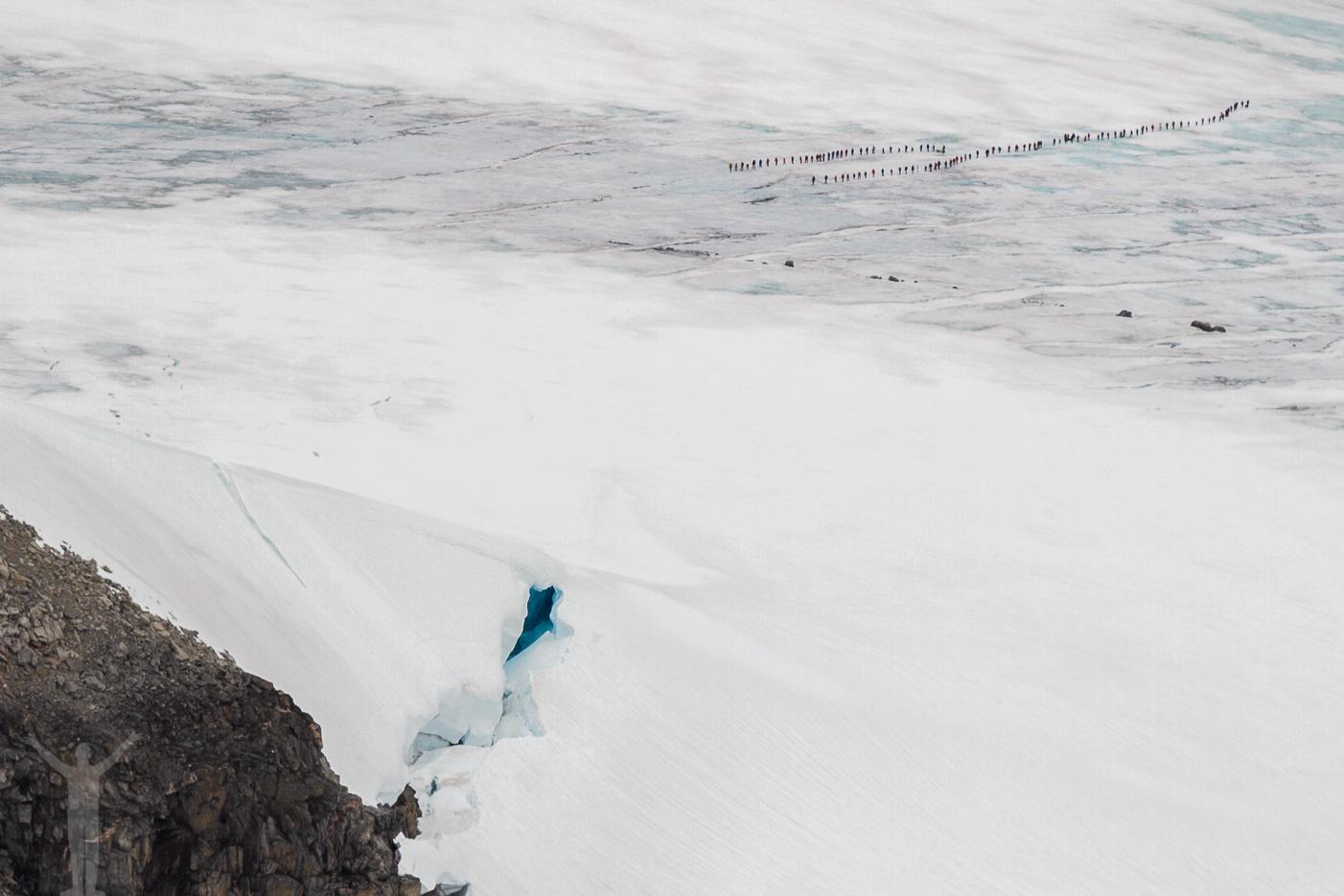 Glaciärvandring från Juvasshytta