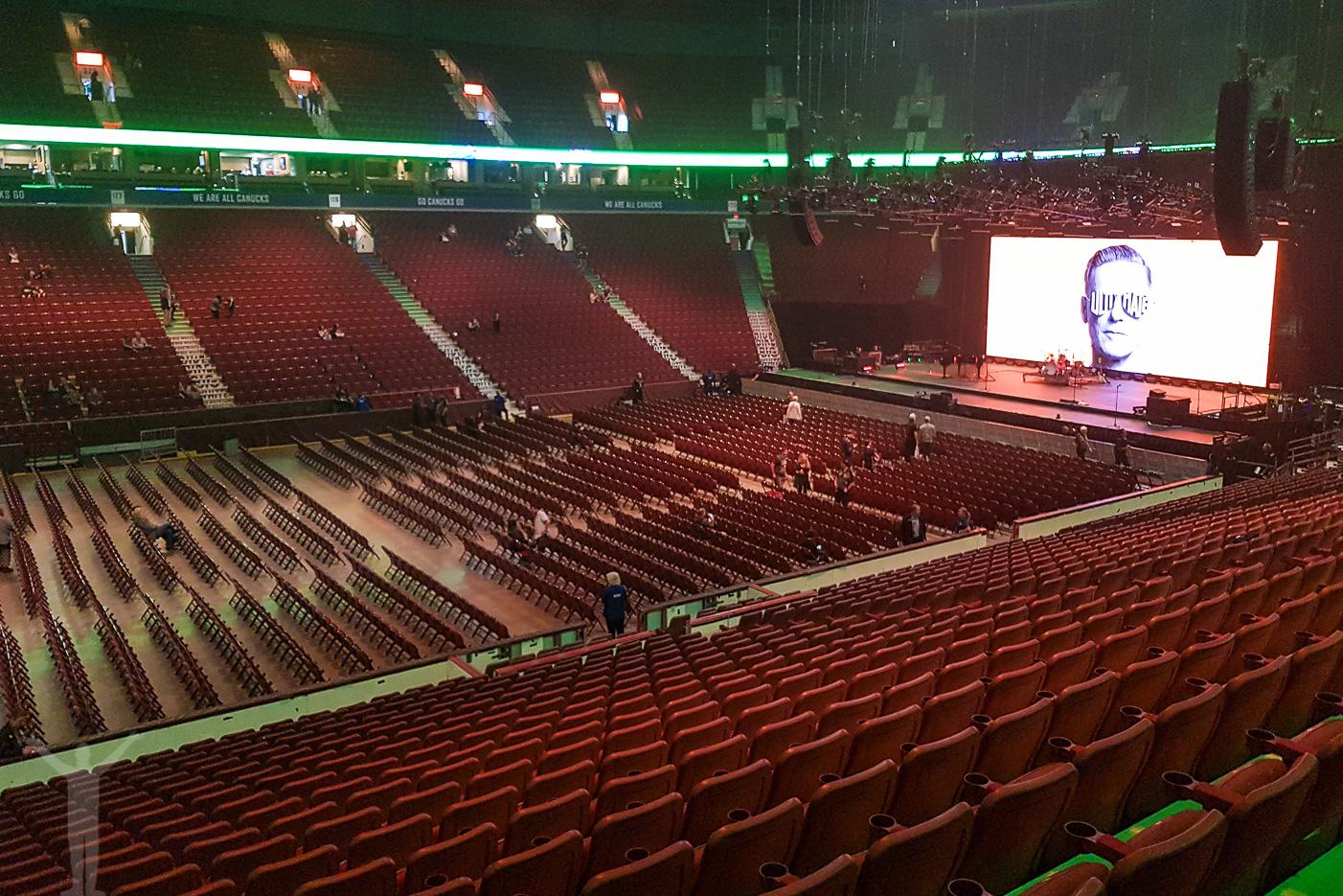 Dagens största förvåning - sittplatser på ståplats