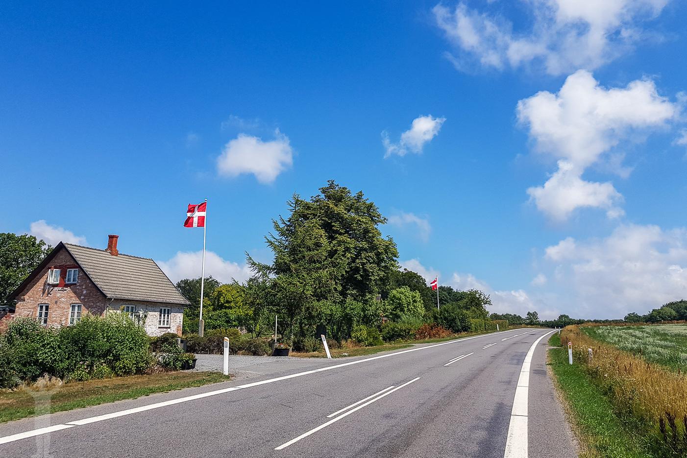 Väg på Bornholm
