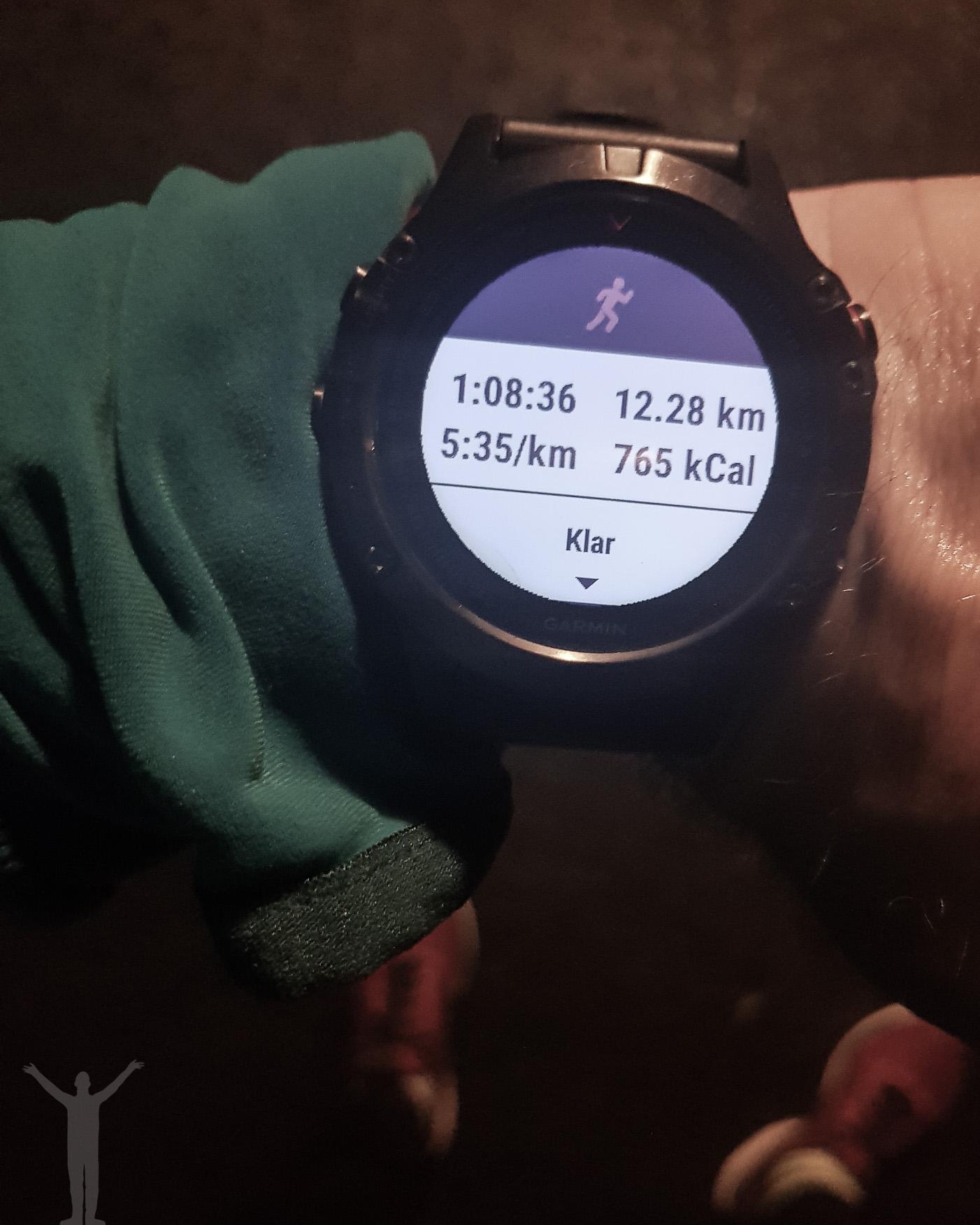 12 kilometer höstlöpning