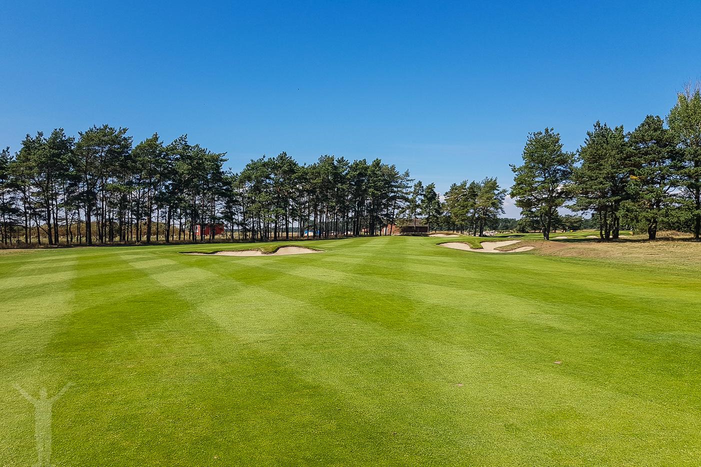 Fairway på Åhus golfbana