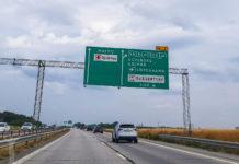 Motorväg utanför Malmö