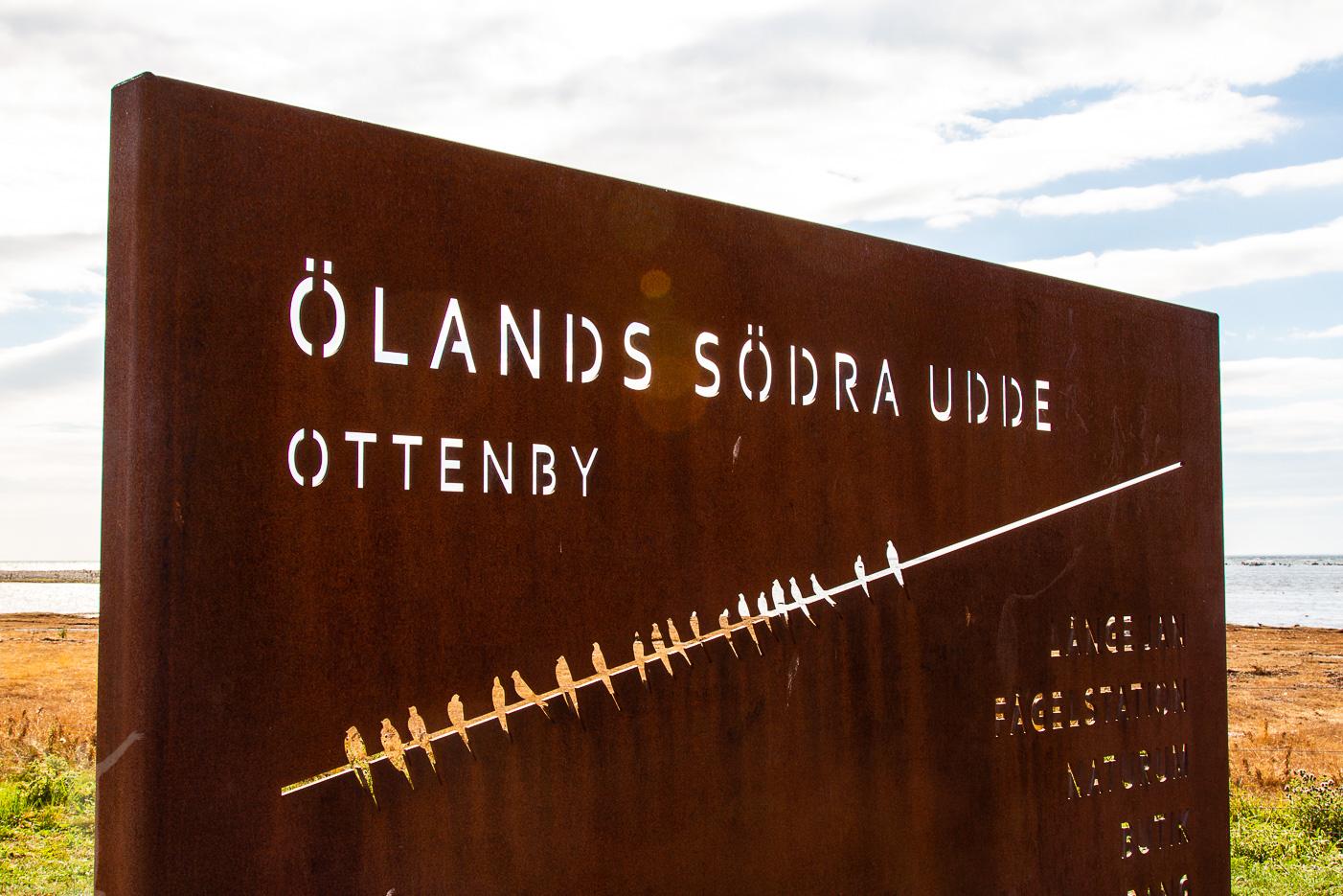 Bila på Öland ner till Ölands södra udde och Naturum
