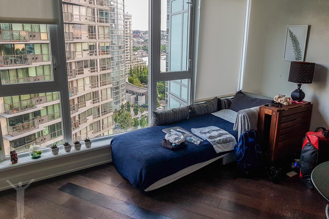Min Airbnb-lägenhet i Vancouver