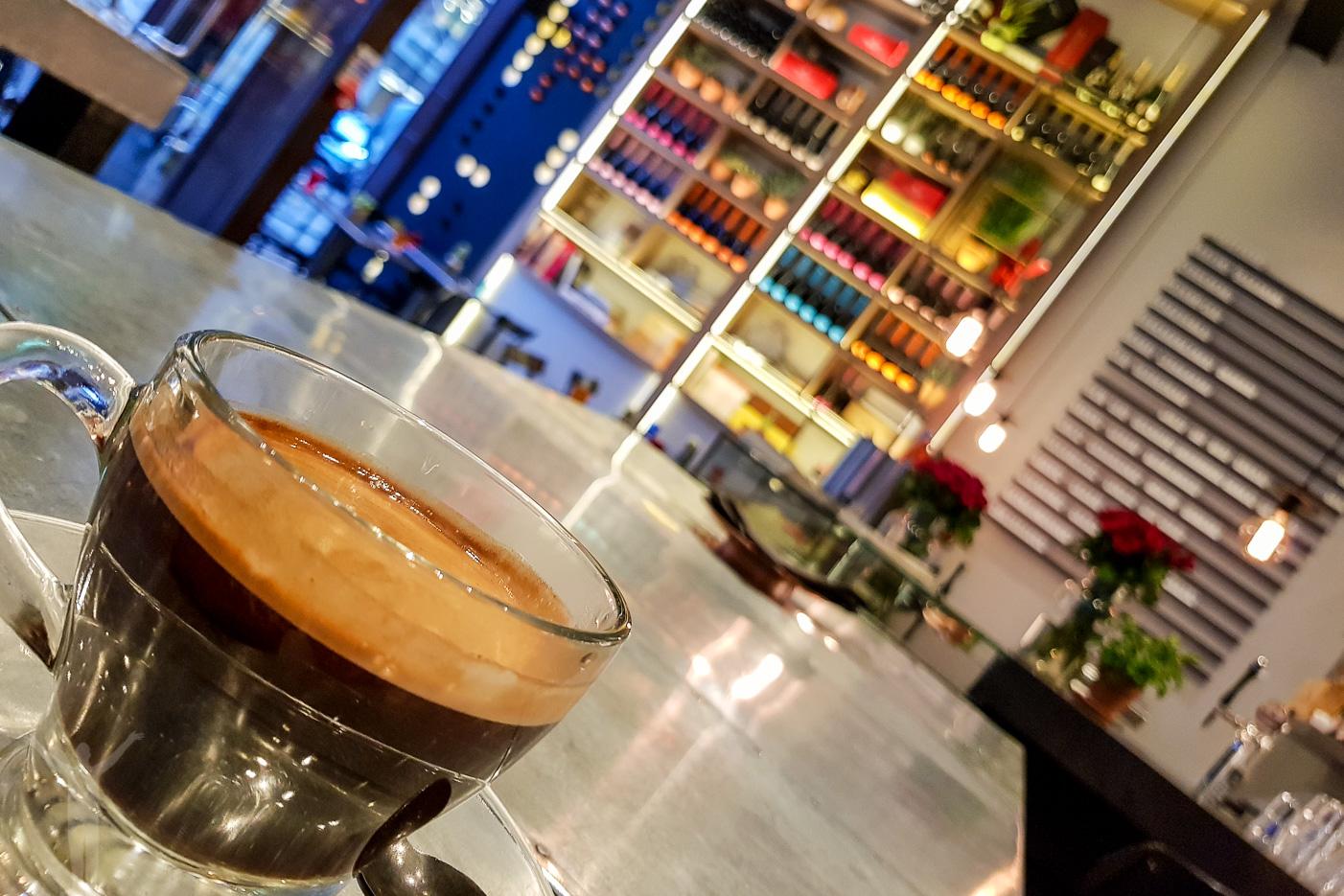 Perfekt kaffe - om man ska studera i London