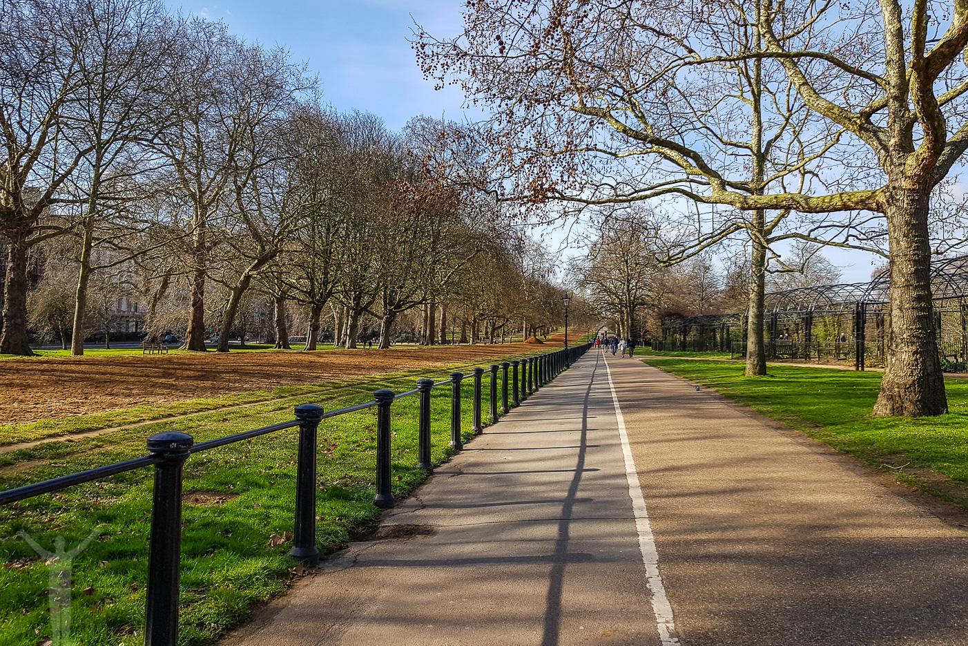Ta en joggingtur i Hyde Park