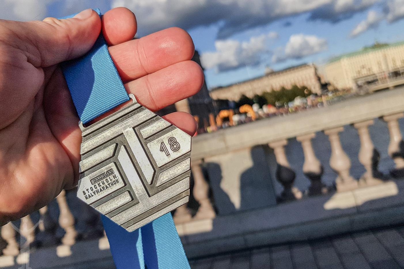 Medaljen här uthämtad!