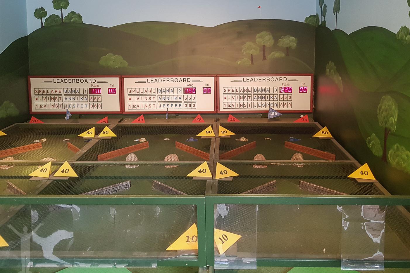 Minigolftävling på Liseberg
