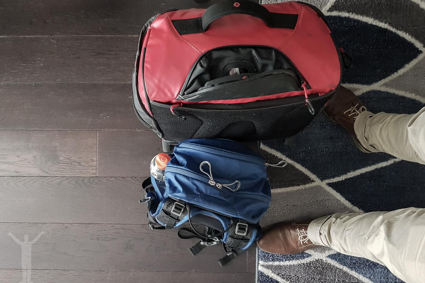 Packad för hemresa