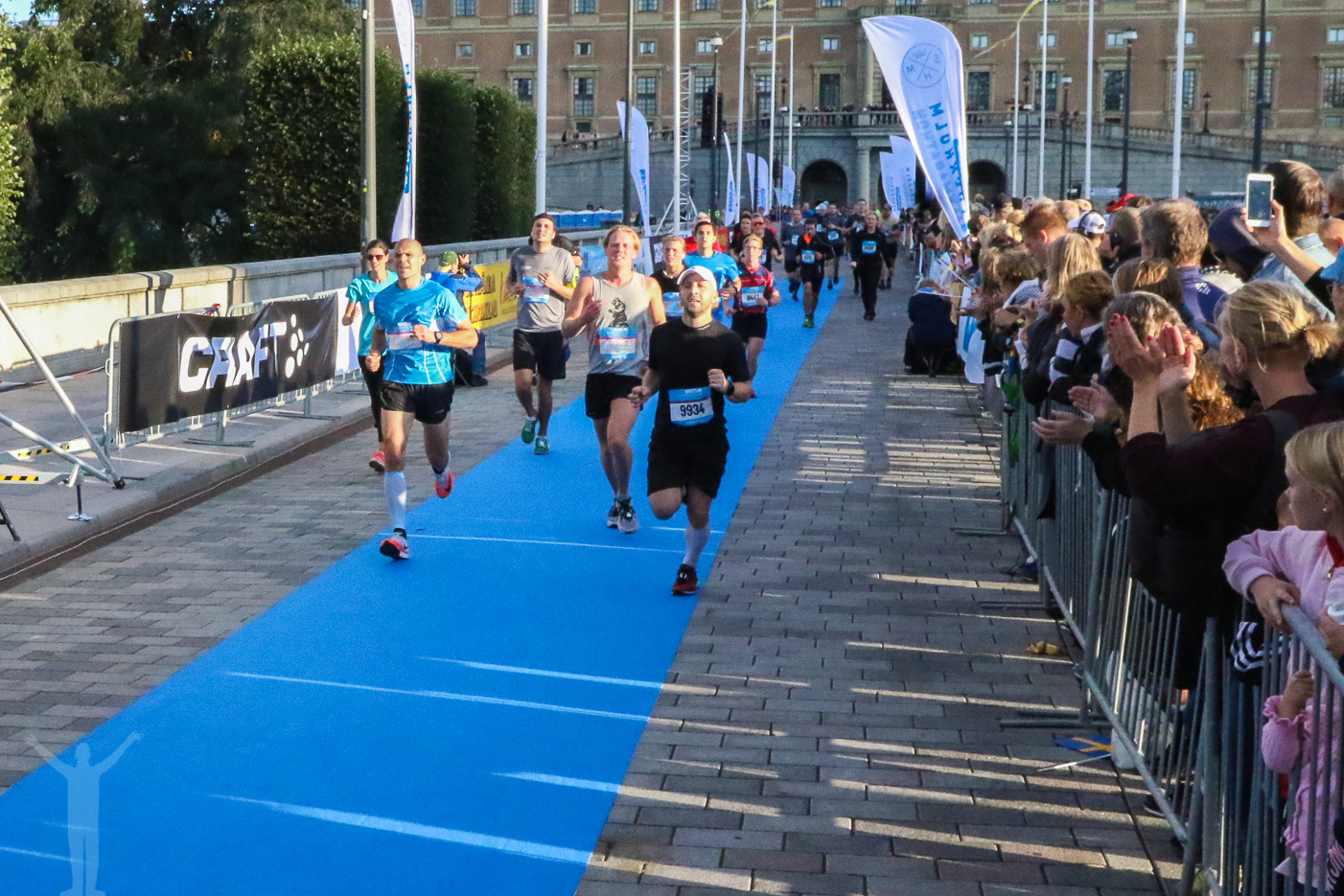 Upploppet på Stockholm Halvmaraton 2018