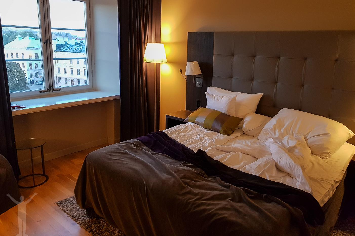 Sängen på Clarion Post, Göteborg