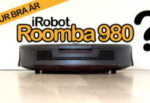 Test av iRobot Roomba 980
