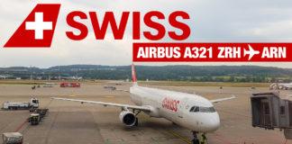 Flyga med Swiss