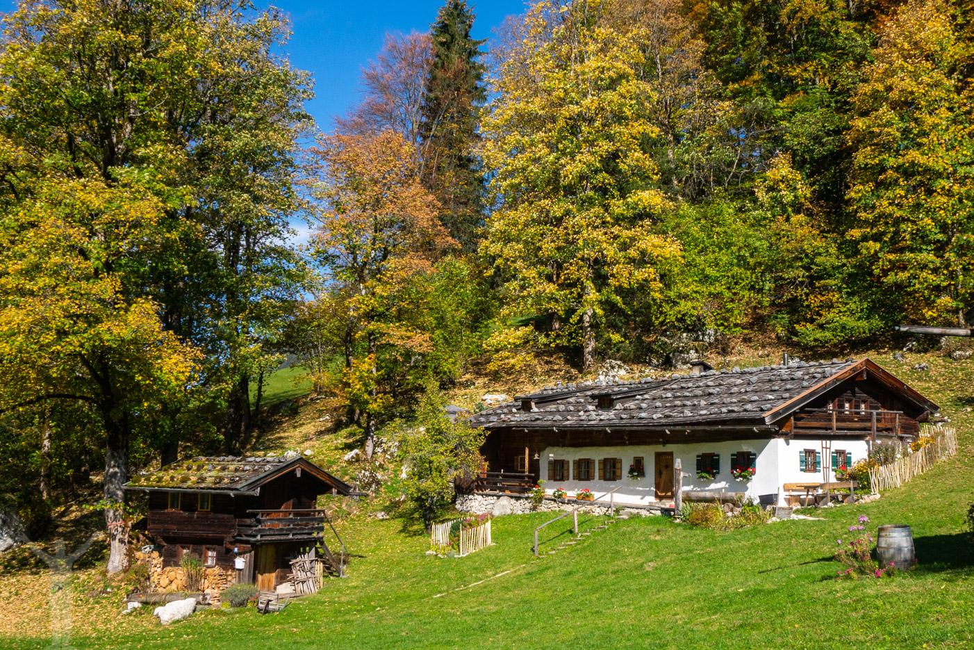 Alpstuga i Berchtesgaden