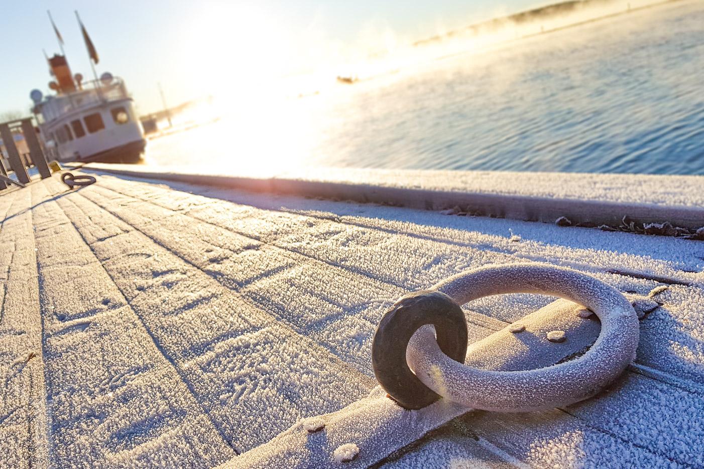 Bryggan i Östersunds båthamn