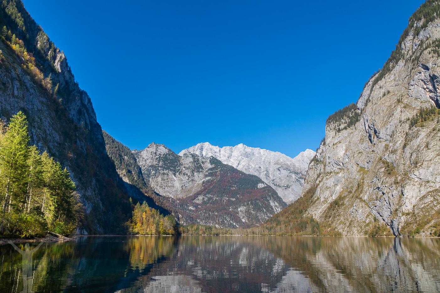 Obersee ligger vindstilla