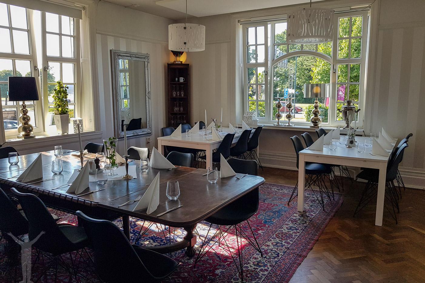 Middagsrum på Dannegården i Trelleborg