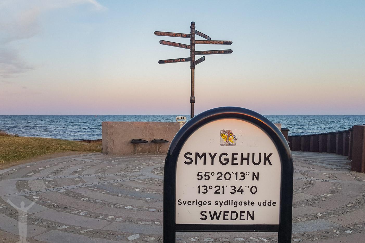 Smygehuk - Sveriges sydligaste udde
