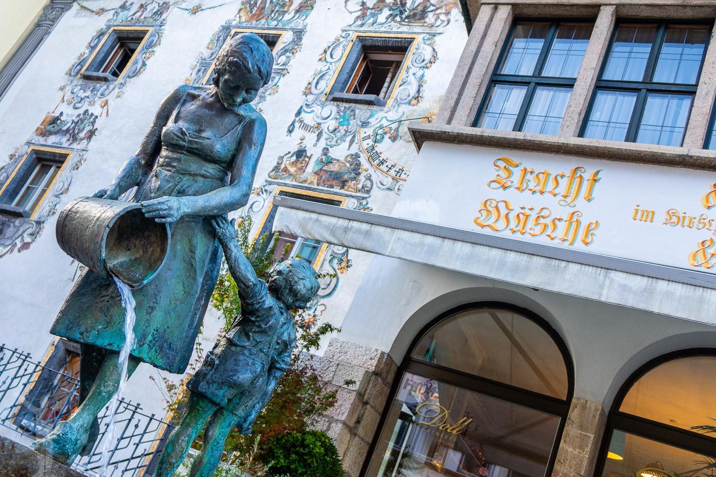 Väggmålningar i Berchtesgaden