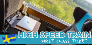 Vlogg: SJ3000 Första klass