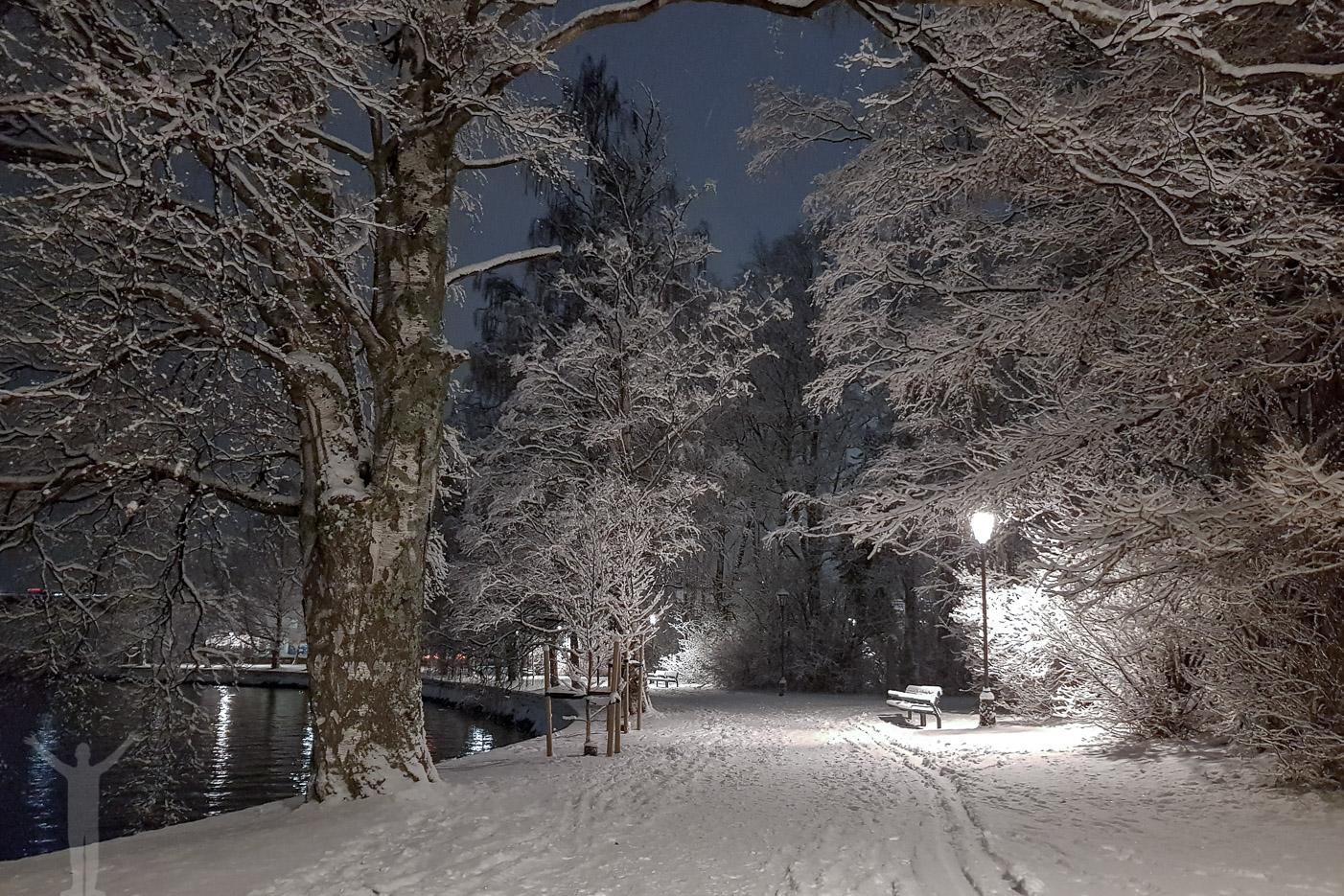 Promenad hemåt i Vinterstaden
