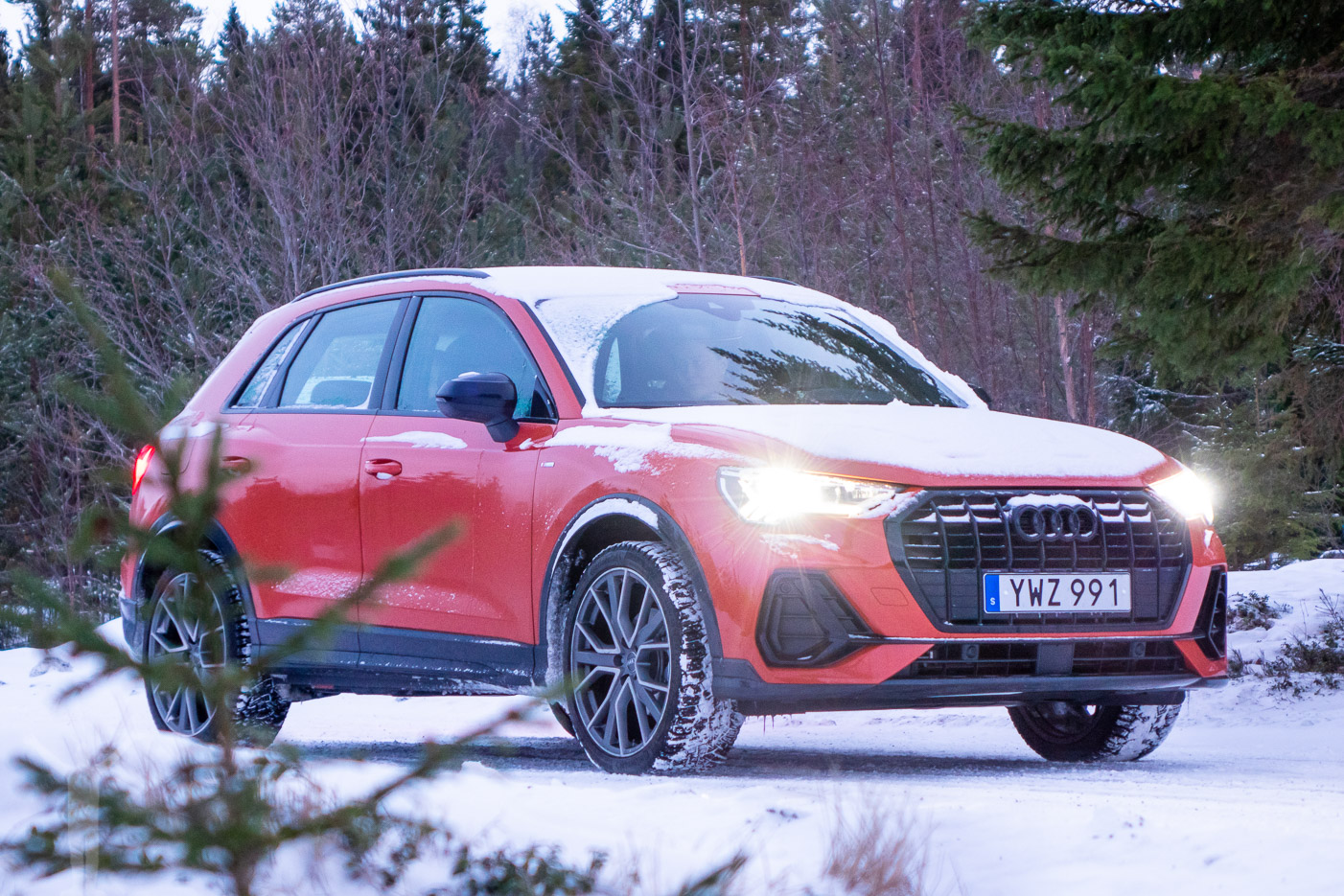 Provkörning Nya Audi Q3 35 Tfsi 2019 Flyingdryden