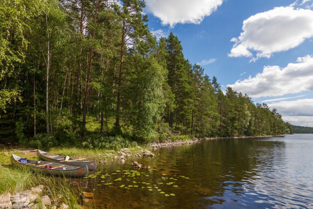 Paddla kajak i Dalsland