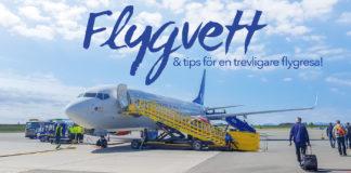Flygvett - tips för en bättre flygresa