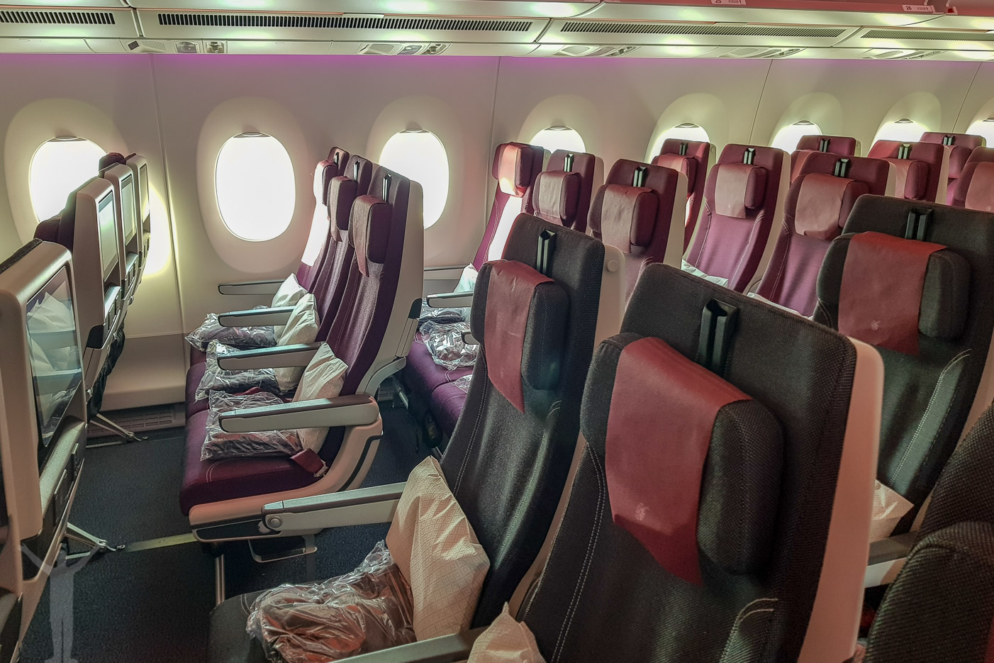 Qatar Airwais i ekonomiklass