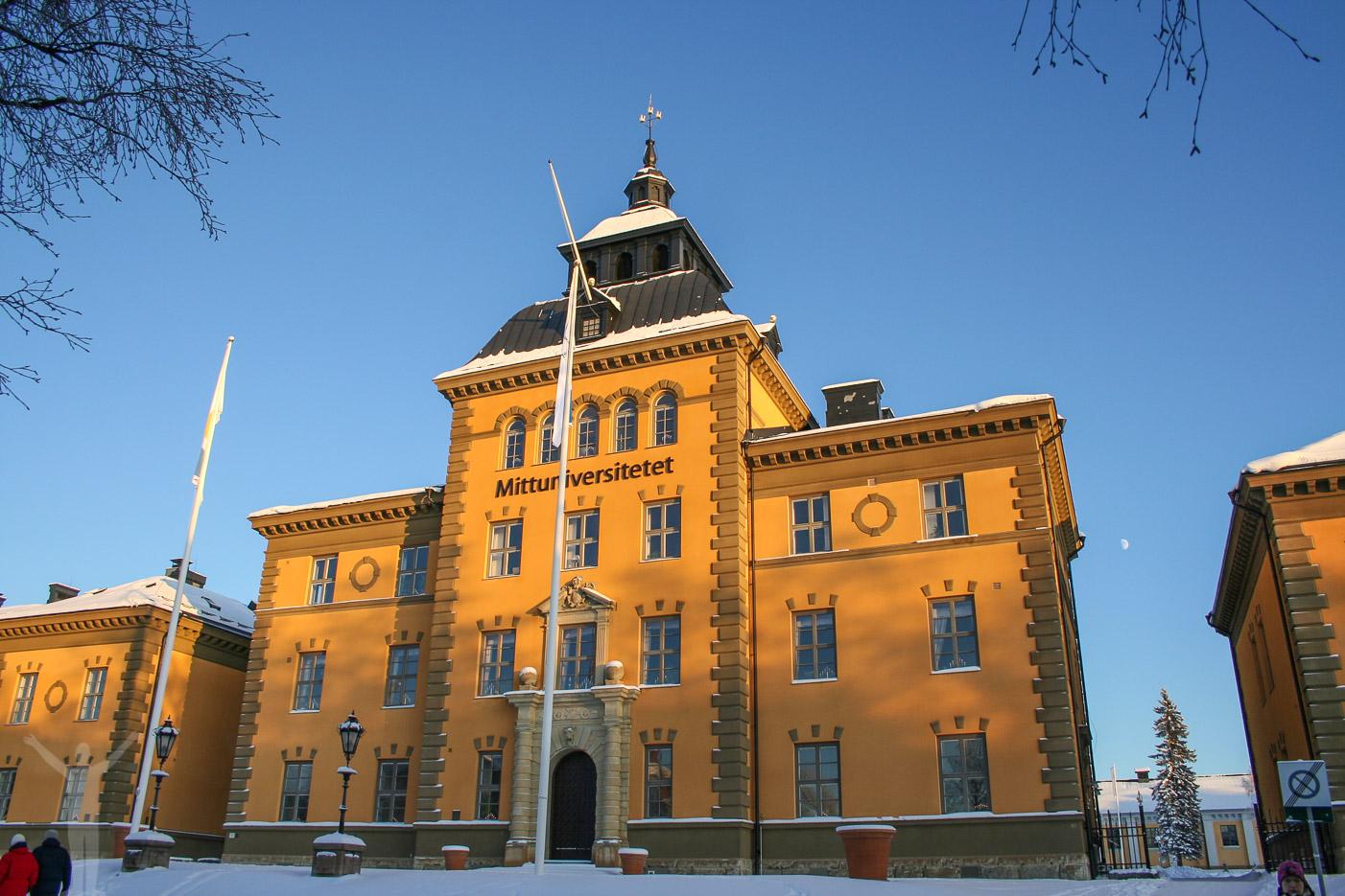Mittuniversitetet på Campus i Östersund