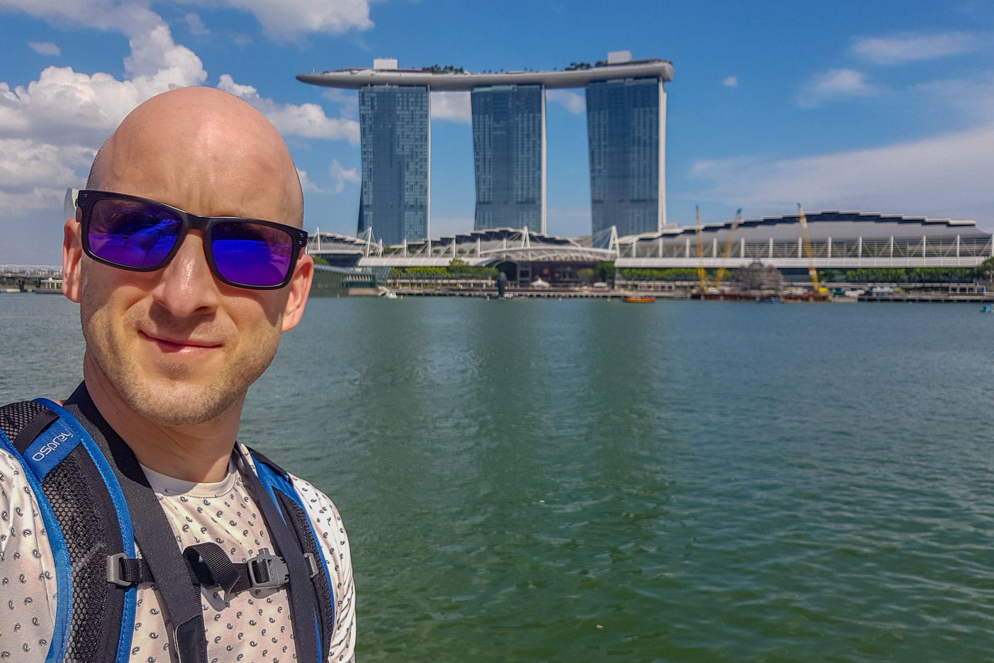 Selfie i Singapore