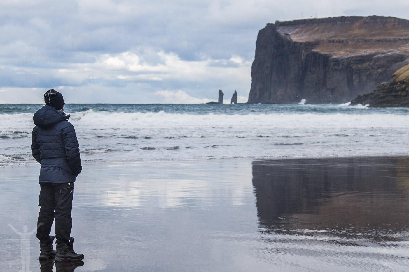 Stranden i Tjørnuvík
