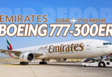 Emirats Boeing 777-300ER från Dubai