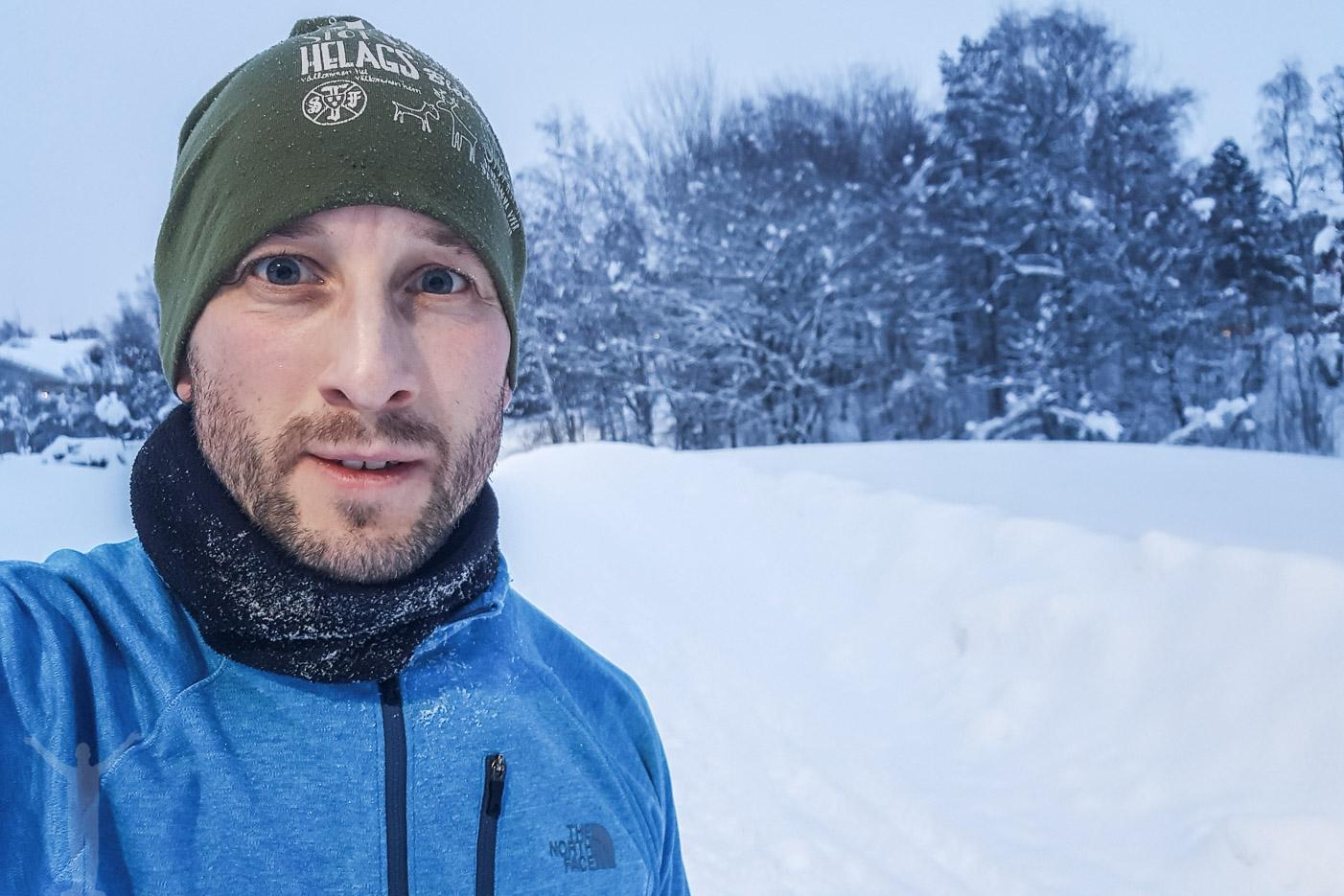 Löpning i vinterväder!