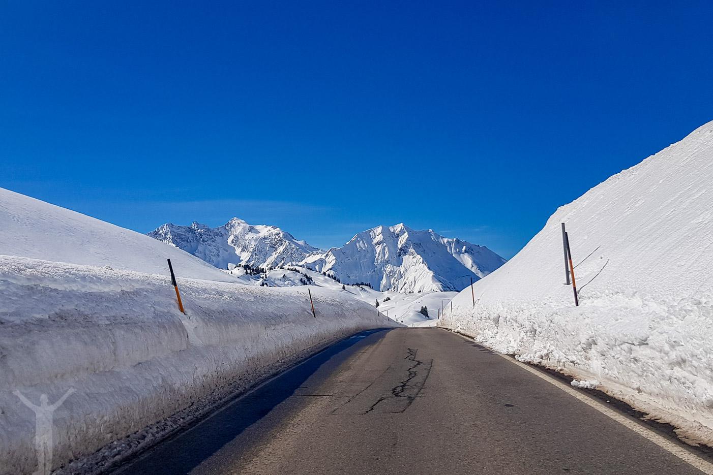 Alpvägarna i Österrike