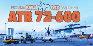 BRA ATR 72-600 från Bromma