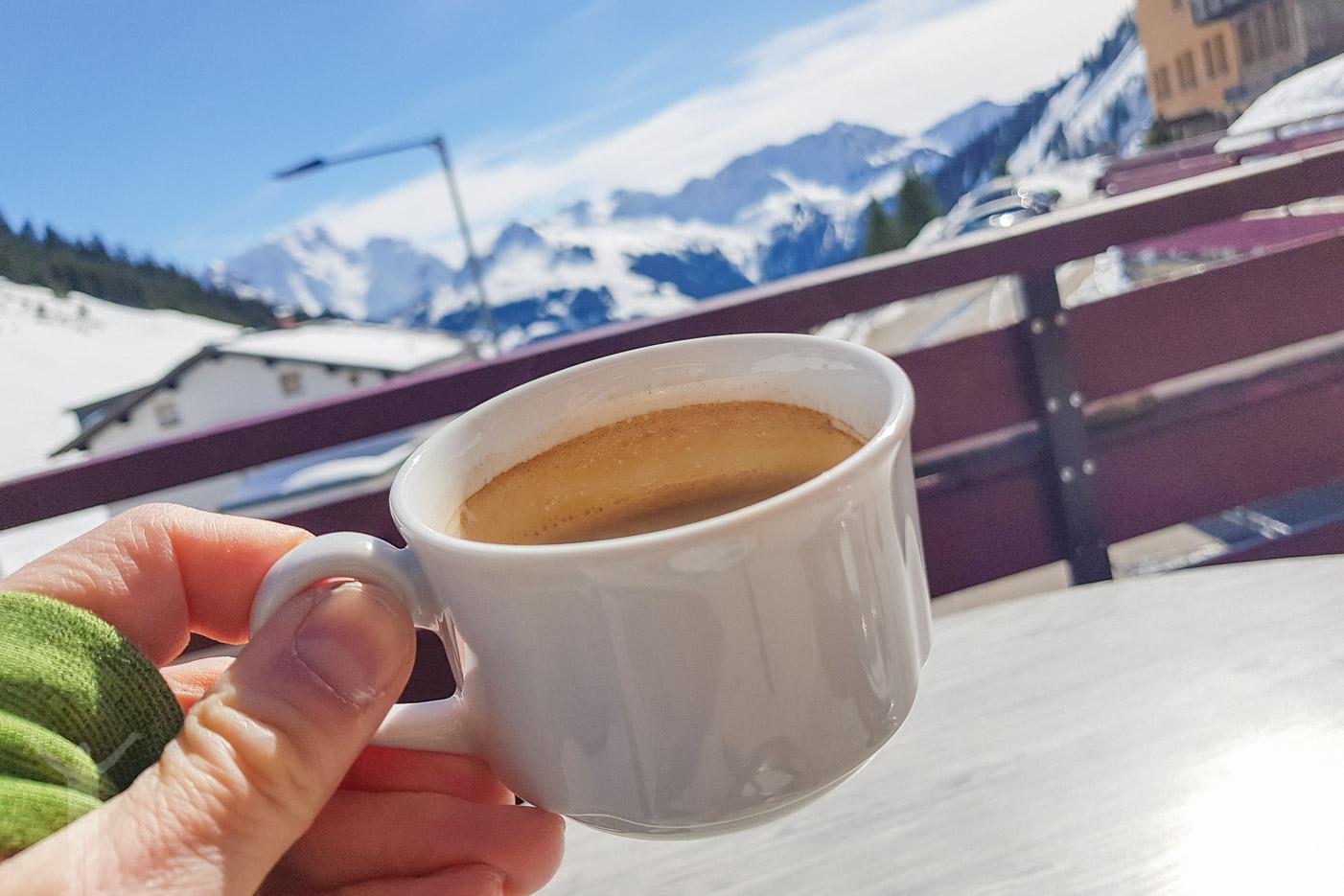 En kaffe i Faschina