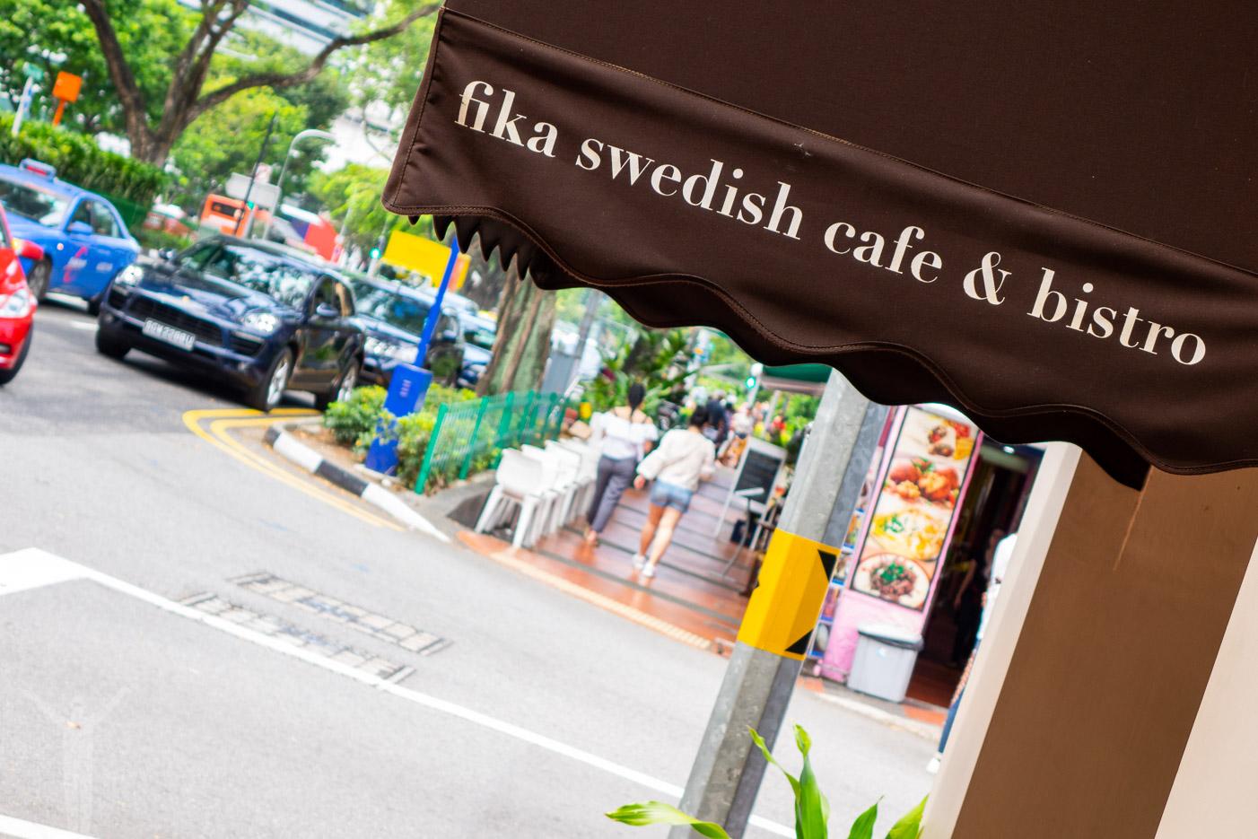 Svenskt kafe i Singapore