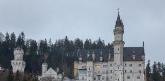 Neuschwanstein, i Tyskland