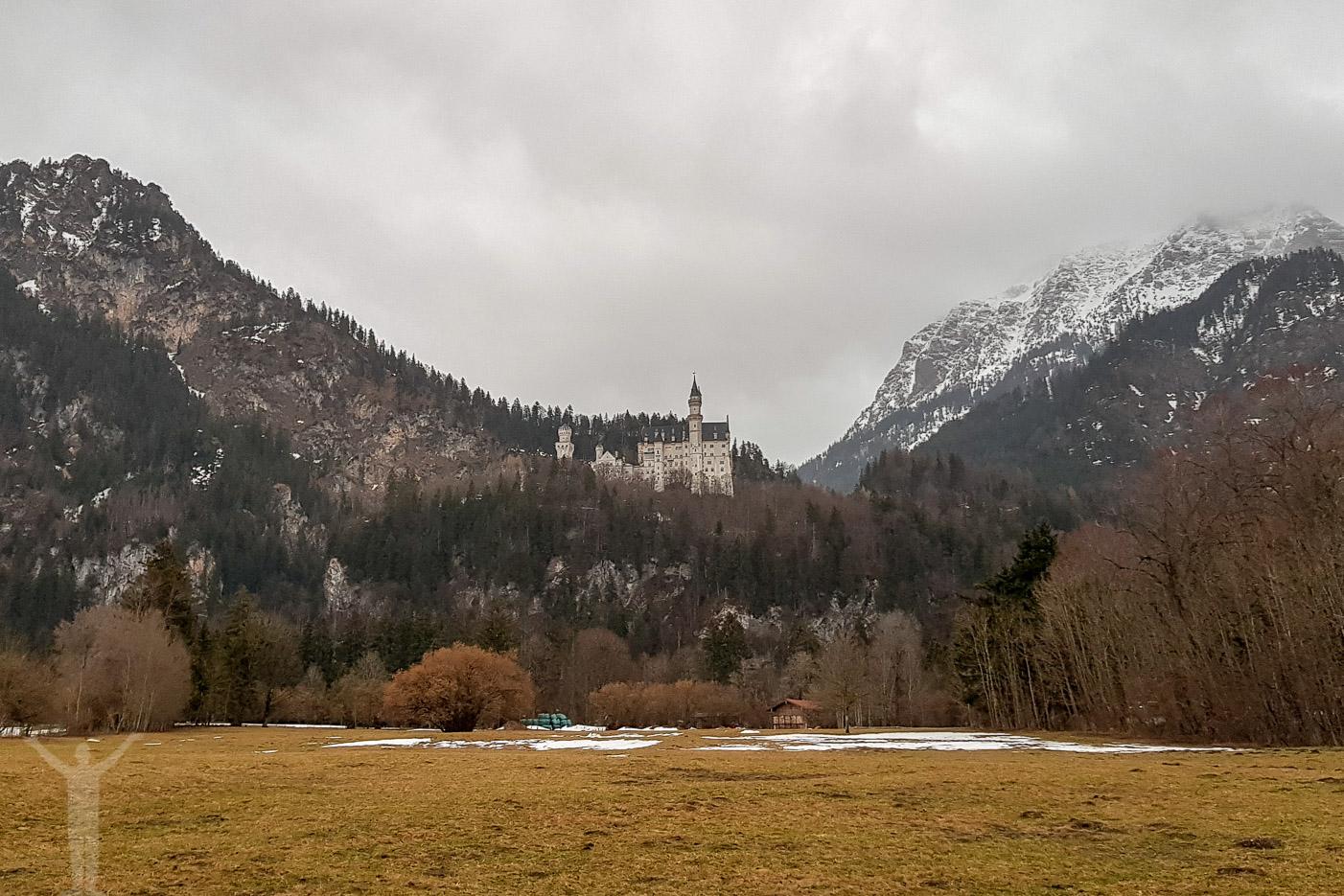 Neuschwanstein i mars
