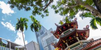 Chinatown och kontraster
